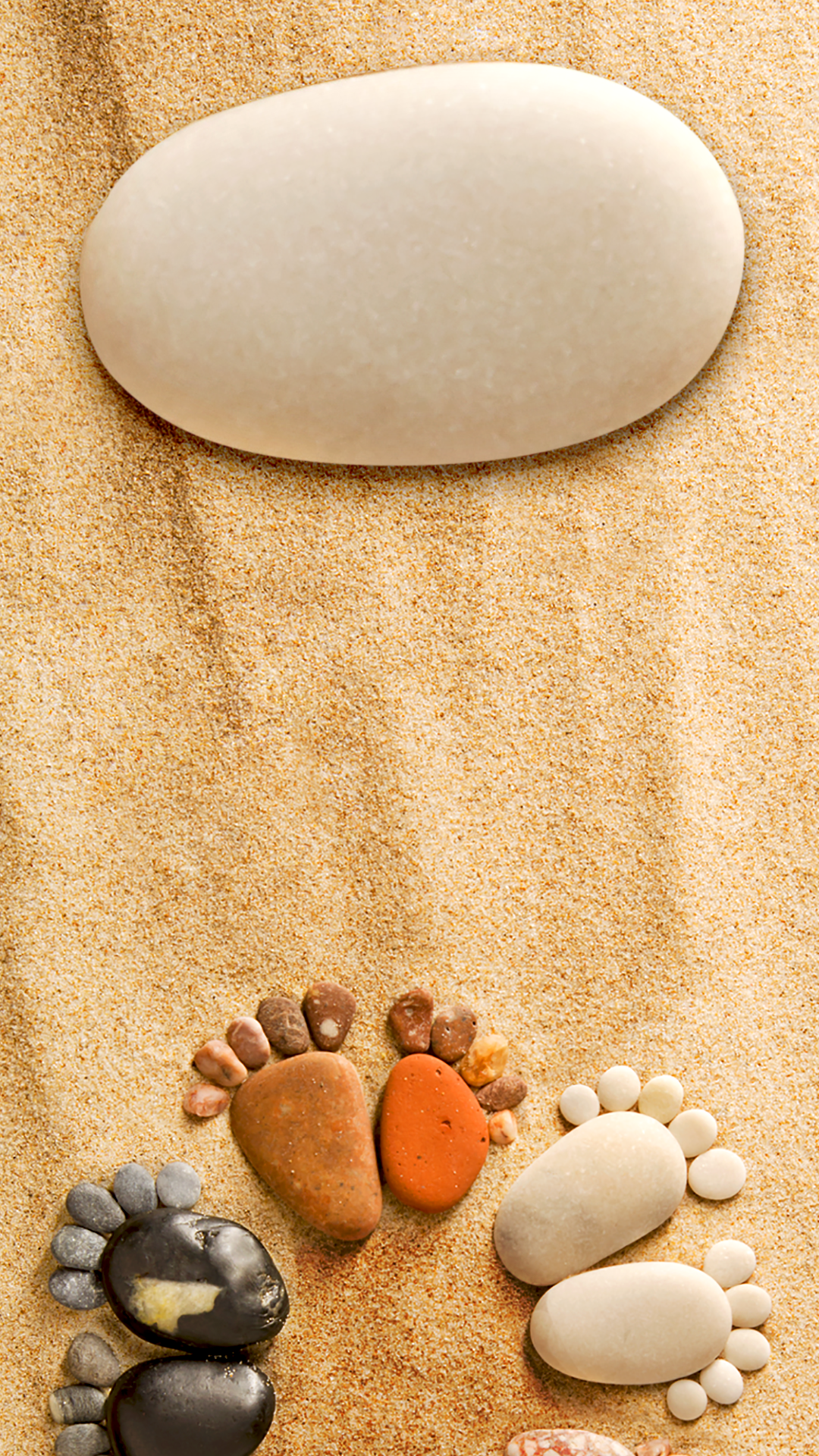 ↑↑TAP AND GET THE FREE APP Lockscreens Art Creative Sand Steps