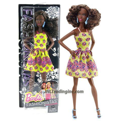 Barbie Fashionistas Ice Cream Rumper African American Doll # 17 Nikki Doll New