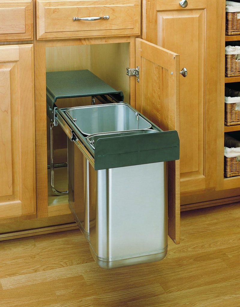 rev a shelf 8 785 30 2ss rental suite waste container trash can rh pinterest com