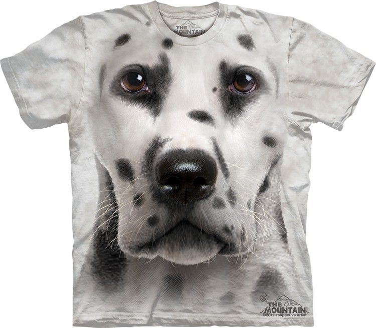 38a2ca83b3be Big face Dalmation Dog Face T-Shirts