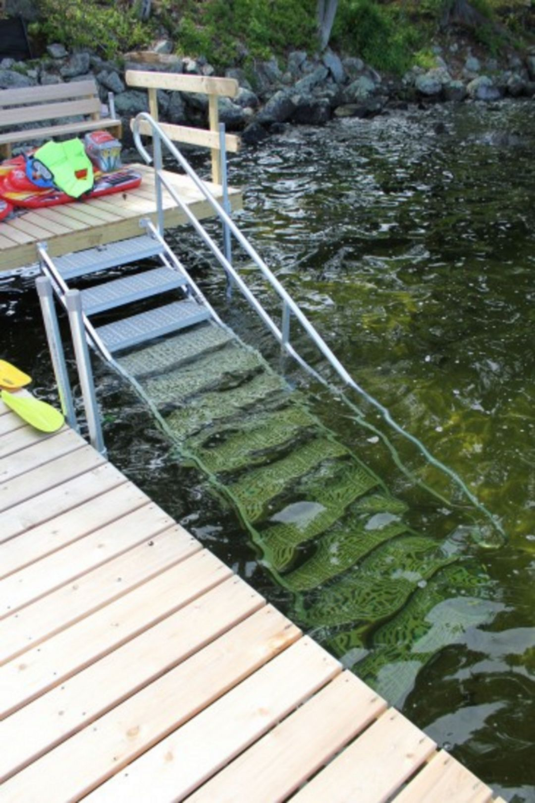 Easy and cheap river dock design for awesome lake home