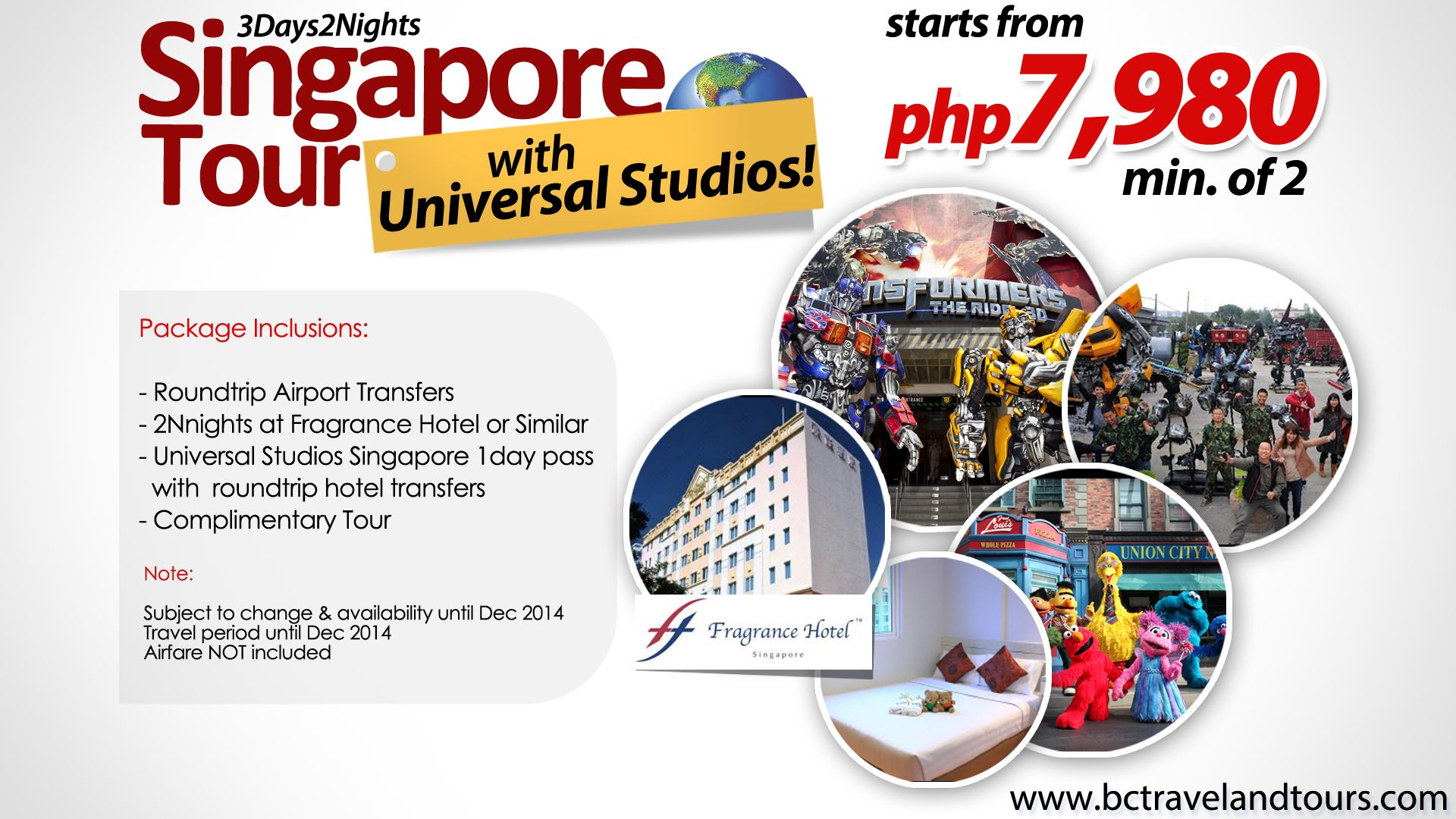 Singapore Universal Studios Singapore Singapore Tour Merlion Travel Promos Singapore Tour Universal Studios Singapore