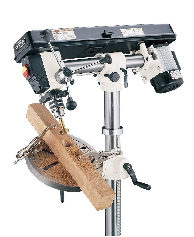 SHOP FOX W1670 review Drill press, Woodworking tools