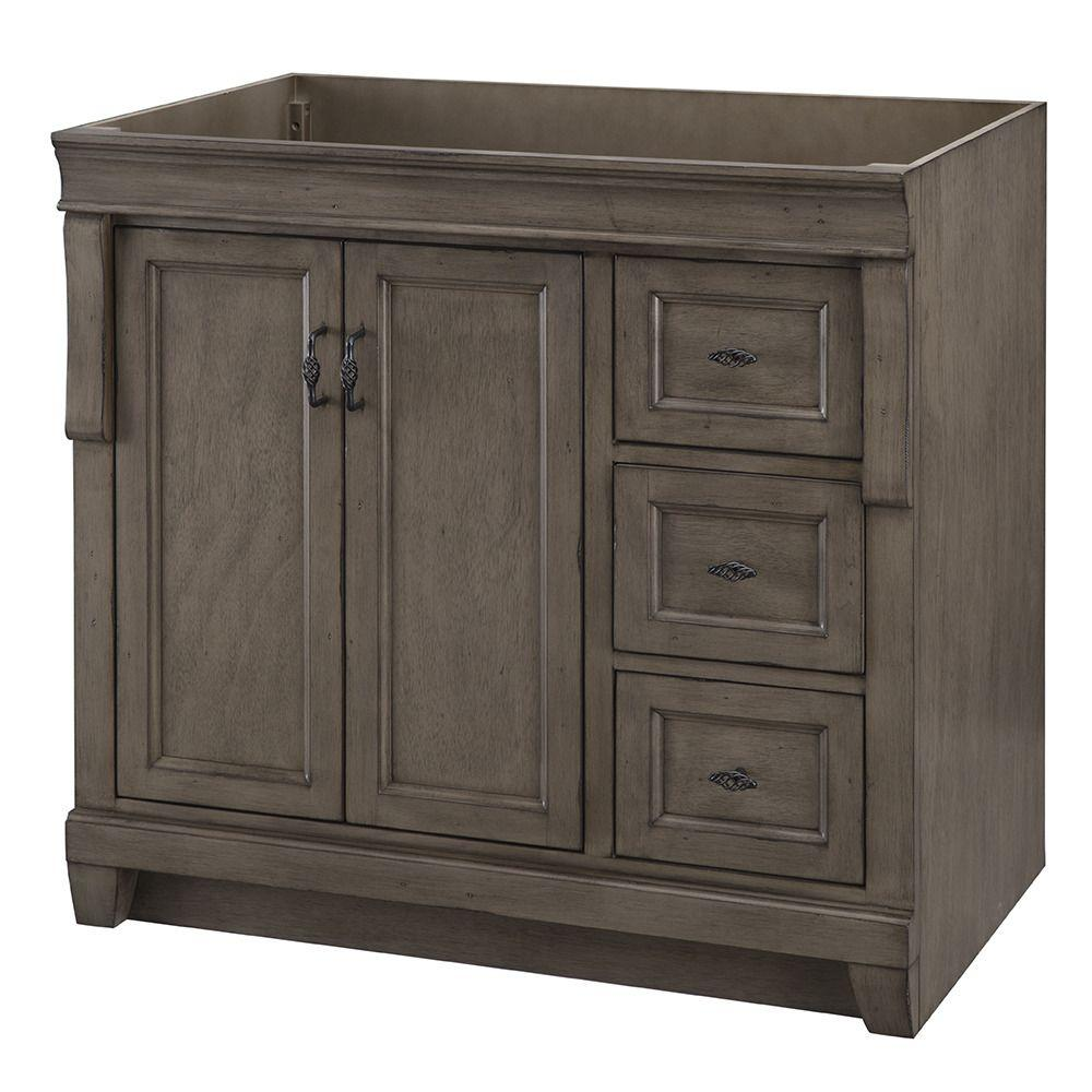 Home Decorators Collection Naples 36 In W Bath Vanity Cabinet Only In In 2020 Home Depot Bathroom Vanity Vanity Cabinet Wooden Bathroom Cabinets