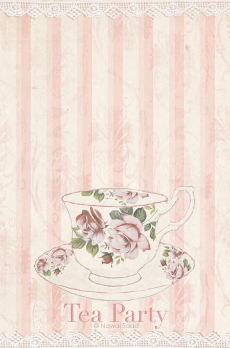 دعوه الي حفلة الشاي بحث Google Tapestry Printed Shower Curtain Tea Party