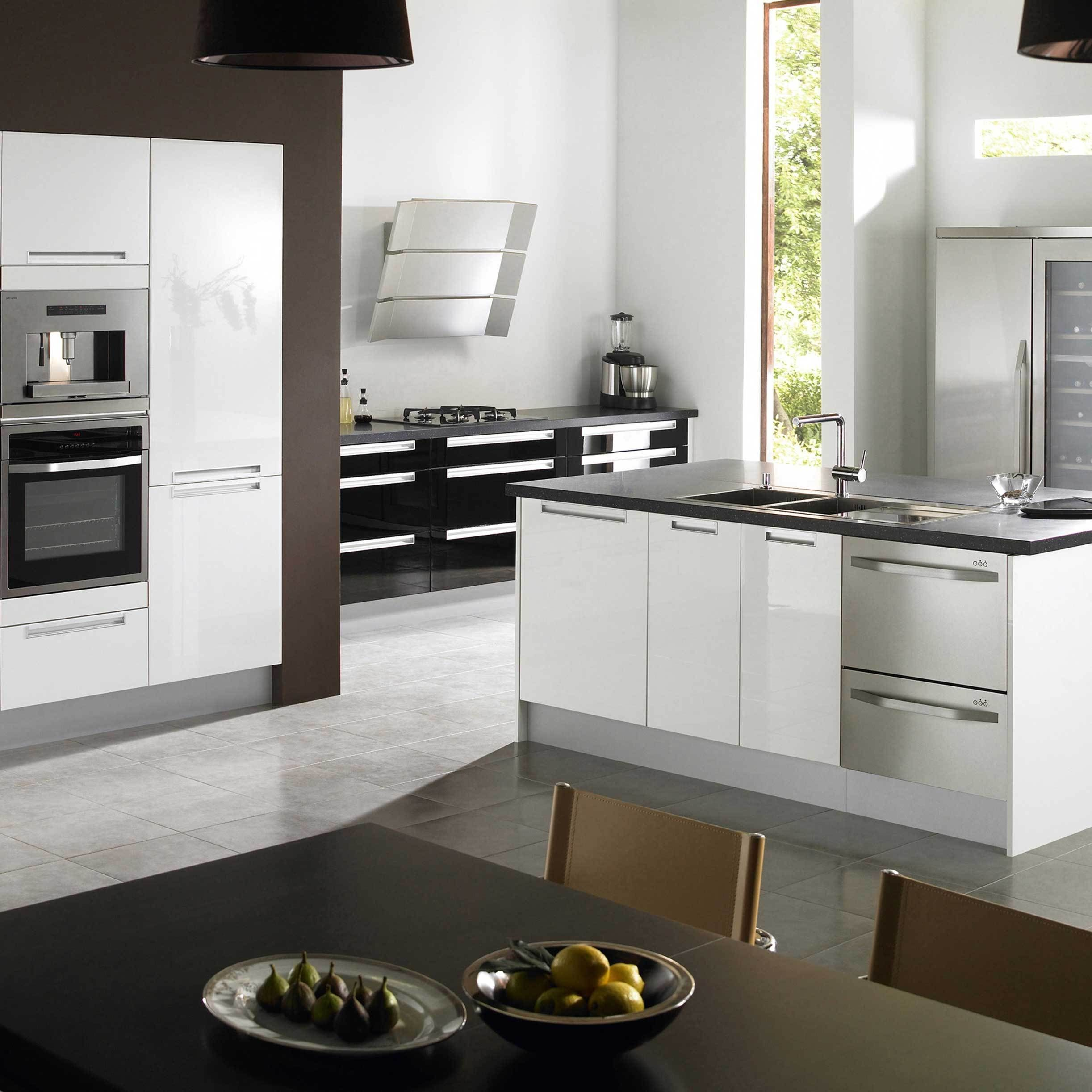 luxury white kitchen appliances home idea