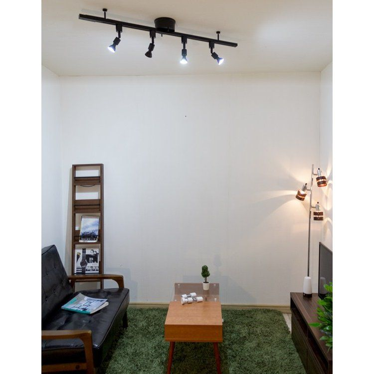 ライティングレール 照明 シーリングライト ダクトレール 1m 100cm 白