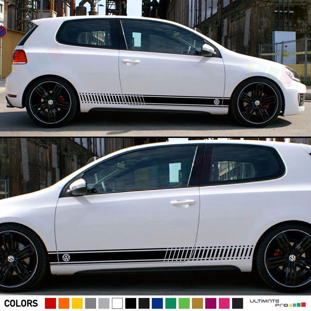 Stickers Decal For Volkswagen Vw Golf Stripes Graphics Door Trim Kit Mk1 Mk7 Gti Ultimateprocy1 Volkswagen Golf Volkswagen Vw Golf [ 1000 x 1000 Pixel ]