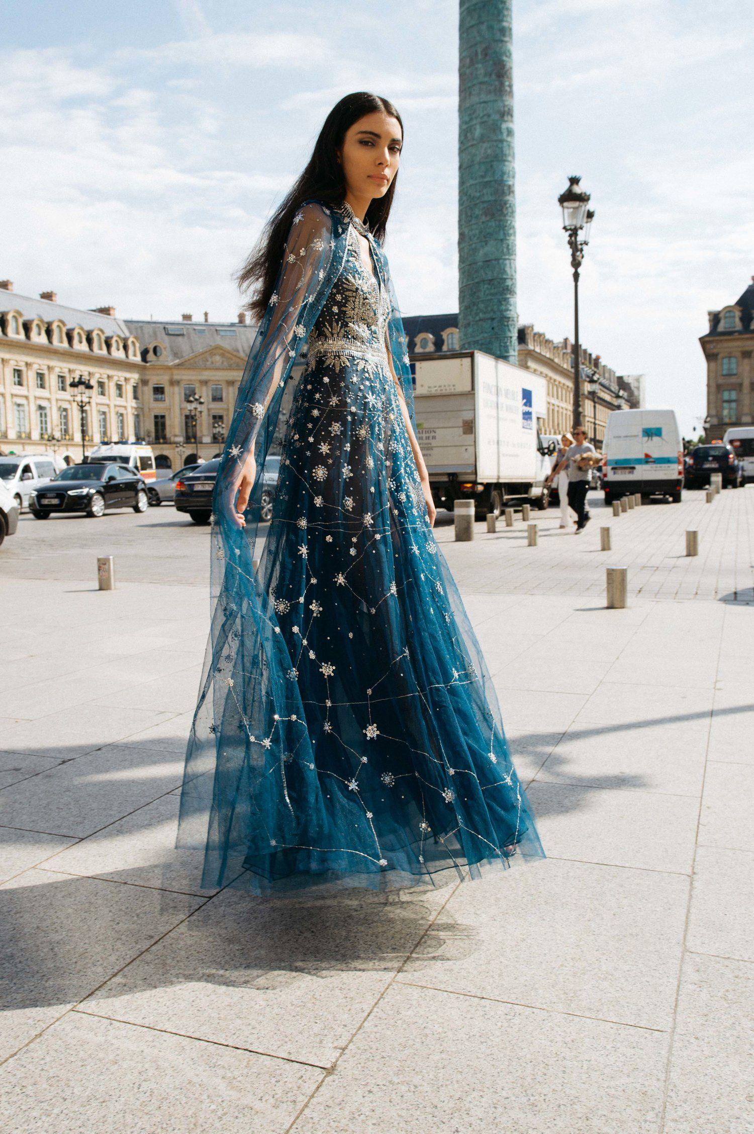 Constellation Dress Galaxy Dress Star Dress [ 2254 x 1500 Pixel ]