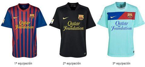 Sucesivas revisión camiseta del Barcelona 1899-2014  b0e15056228f9