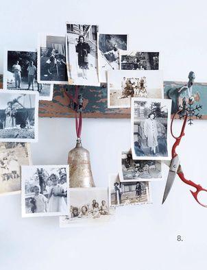 photo wreath lovely idea for christmas cards too