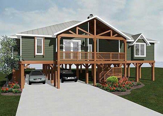 Modelos de casas sobre pilotes planos para casas - Como hacer un plano de una casa ...