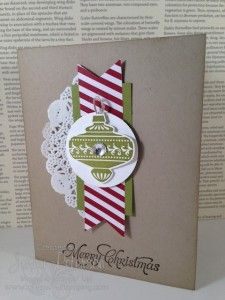 Christmas Collectibles Bundle Christmas Card, Stampin' Up! Demonstrator, Jenny M. Peterson