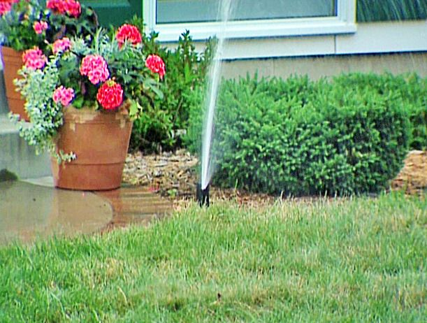 How Can You Determine Where Your Underground Sprinkler System Is Leaking Answer I Know From Person Underground Sprinkler Sprinkler System