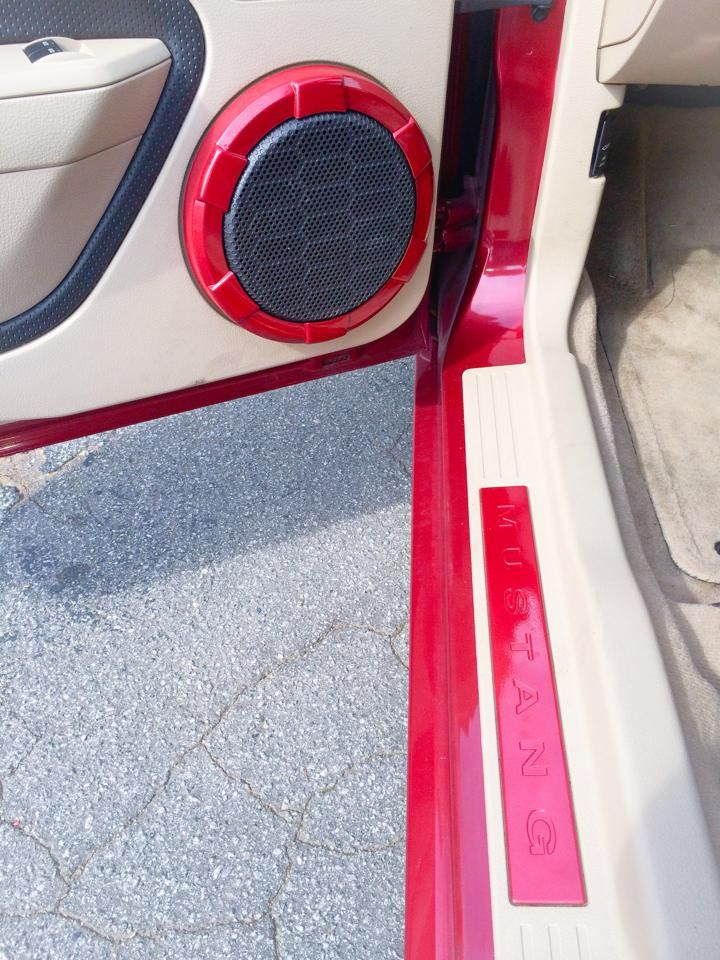 Voyles Performance Painted Mustang Bose soundlink mini