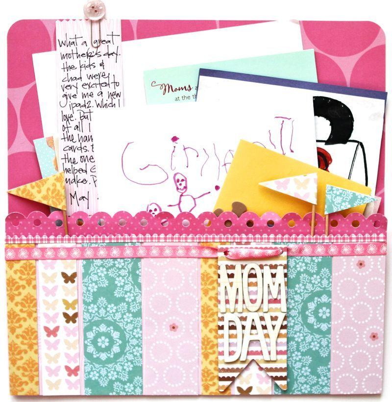 Pocket full of memories | Scrapbook inspiration, Mothers ...