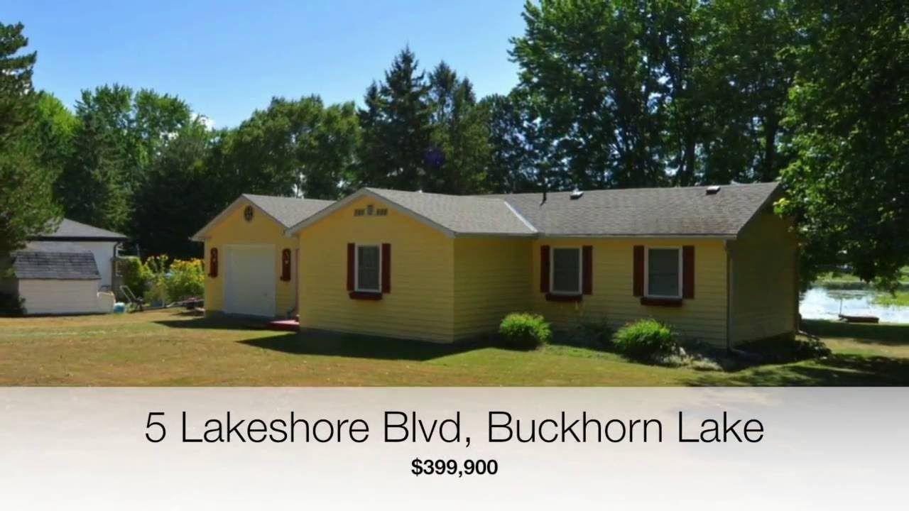 CINDY GYNANE - 5 LAKESHORE BLVD, BUCKHORN LAKE $399,900 REMAX EASTERN