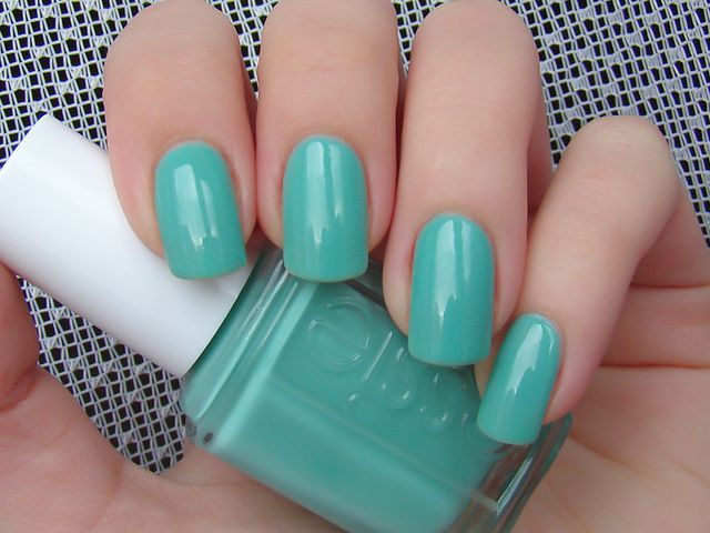 Essie Turquoise and Caicos- I own this color and I LOVE IT ...
