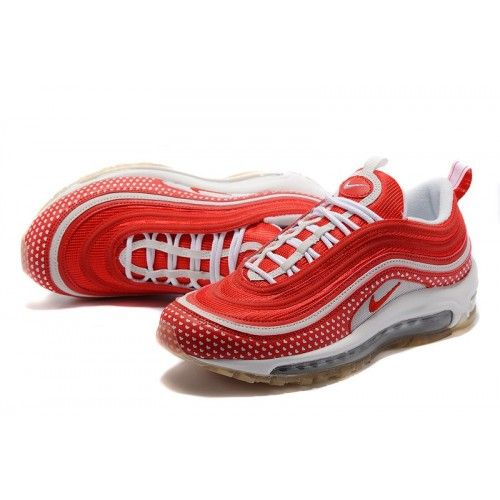 reputable site 41203 d88e5 Acquistare Nike Air Max 97 - Offerte Nike Air Max 97 GS Valentines Day  Donna Scarpe Varsity Rosse Varsity Rosse-Bianche 312461-661
