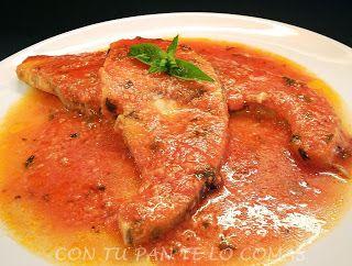 Receta emperador pescado recetas de pescado salsa de for Cocinar pez espada