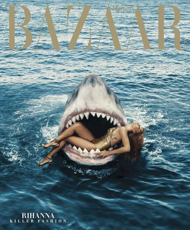 Pop culture les couvertures de magazines les plus for Calendrier rihanna