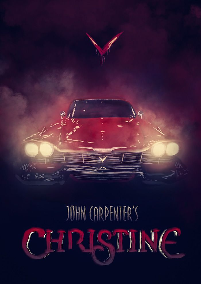 Christine By Thierry Dulau Home Of The Alternative Movie Poster