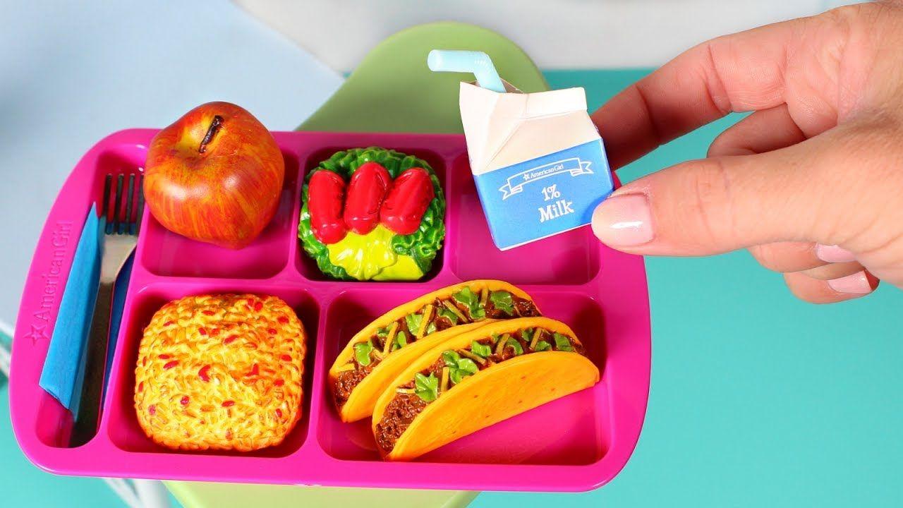 American girl school lunch review american girl doll