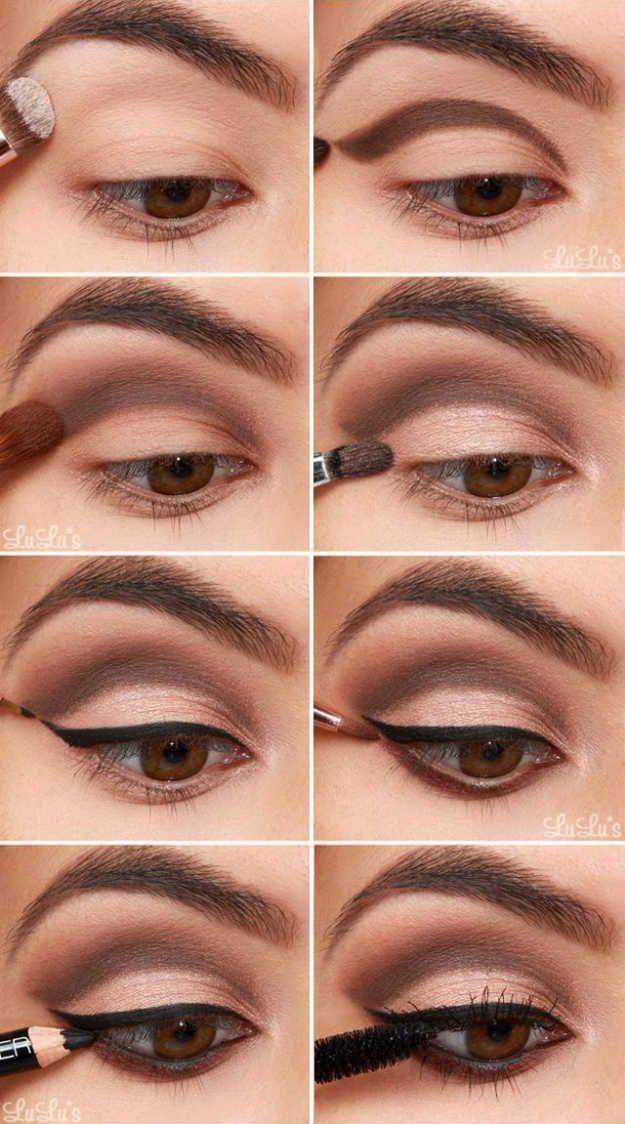 Diy Makeup Tutorials Bridal Eye Makeup Eyeshadow For Brown Eyes