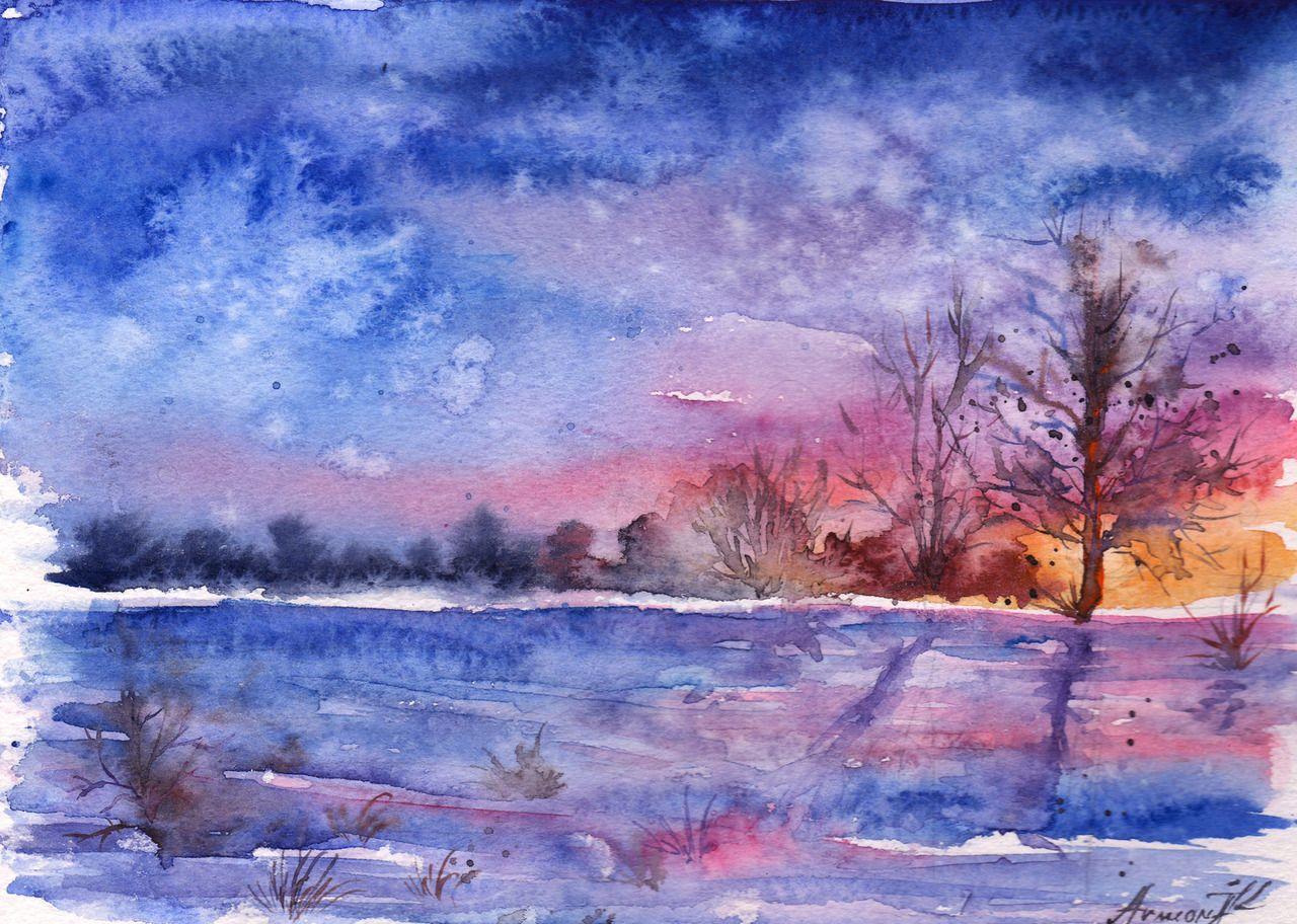 Watercolor artists names - Anna Armona