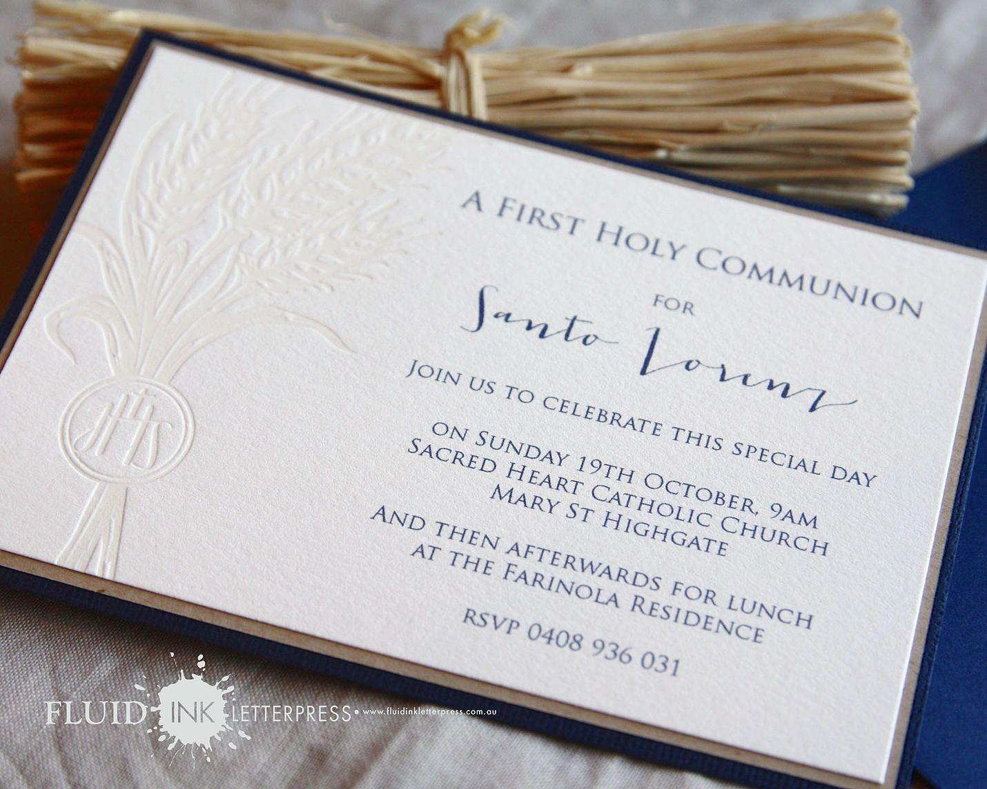 http://www.fluidinkletterpress.com.au/First Holy Communion ...