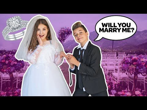 I Got Married To My BOYFRIEND **24 HOUR CHALLENGE