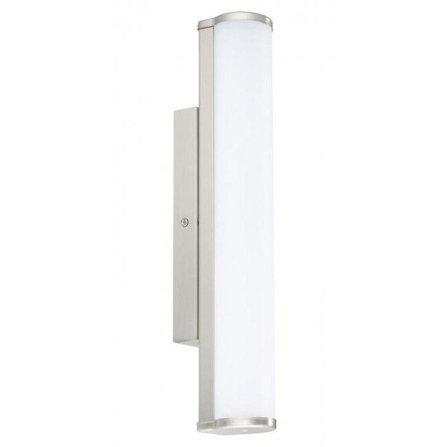 EGLO CALNOVA LED Spiegelleuchte, 350mm, nickel-matt, satiniert - badezimmer led deckenleuchte ip44