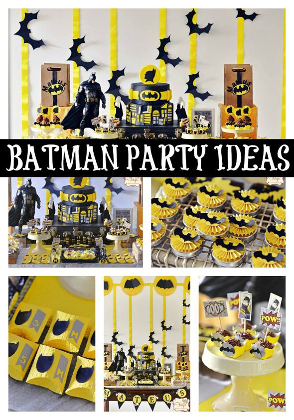 batman themed birthday party superheldengeburtstag pinterest batman kuchen superhelden. Black Bedroom Furniture Sets. Home Design Ideas