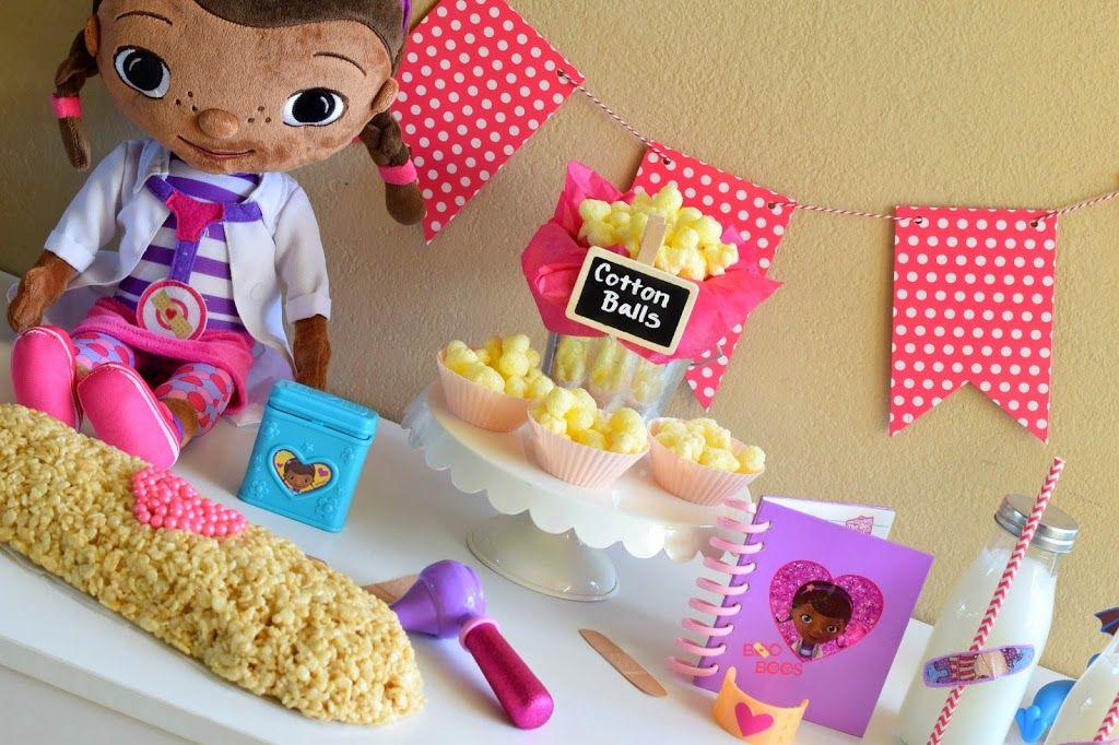 Mommy Testers Doc McStuffins Party Cake Band Aid Bandage Slumber Shop Juniorcelebrates