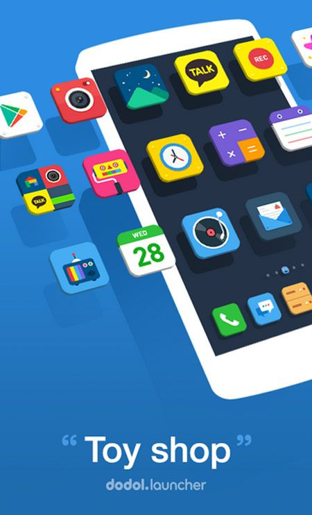 Dodol Launcher - phone decor, Android market best android
