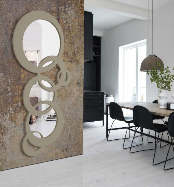 Speil Modell CADENA. Www.mirame.no #speil #stue #soverom #