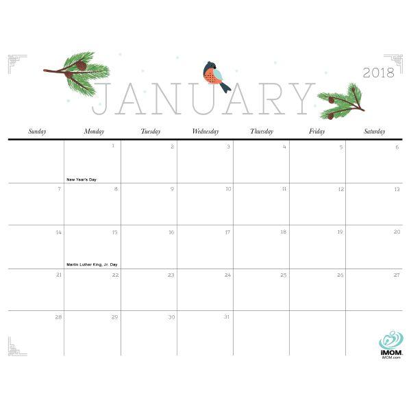 Cute And Crafty  Calendar  Crafty Free Printable Calendar