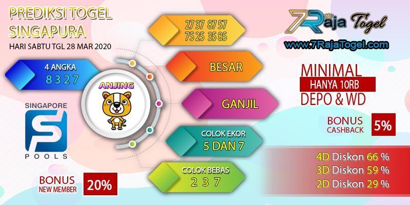 Syair Sgp Prediksi Sgp Sabtu 28 Mar 2020 Oleh Guru4togel Di 2020 Singapura