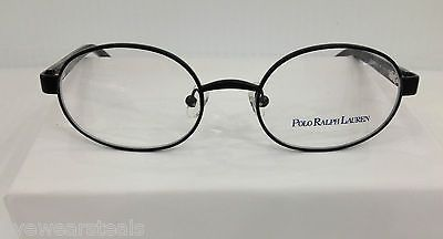 3b2b23759b NEW AUTHENTIC POLO RALPH LAUREN 8022 COL 107 BLACK METAL KIDS EYEGLASSES  FRAME