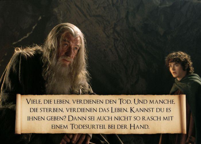 Sprüche Herr Der Ringe