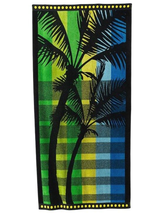 Cool And Colorful Beach Towels Palm Trees Beach Beach Towel