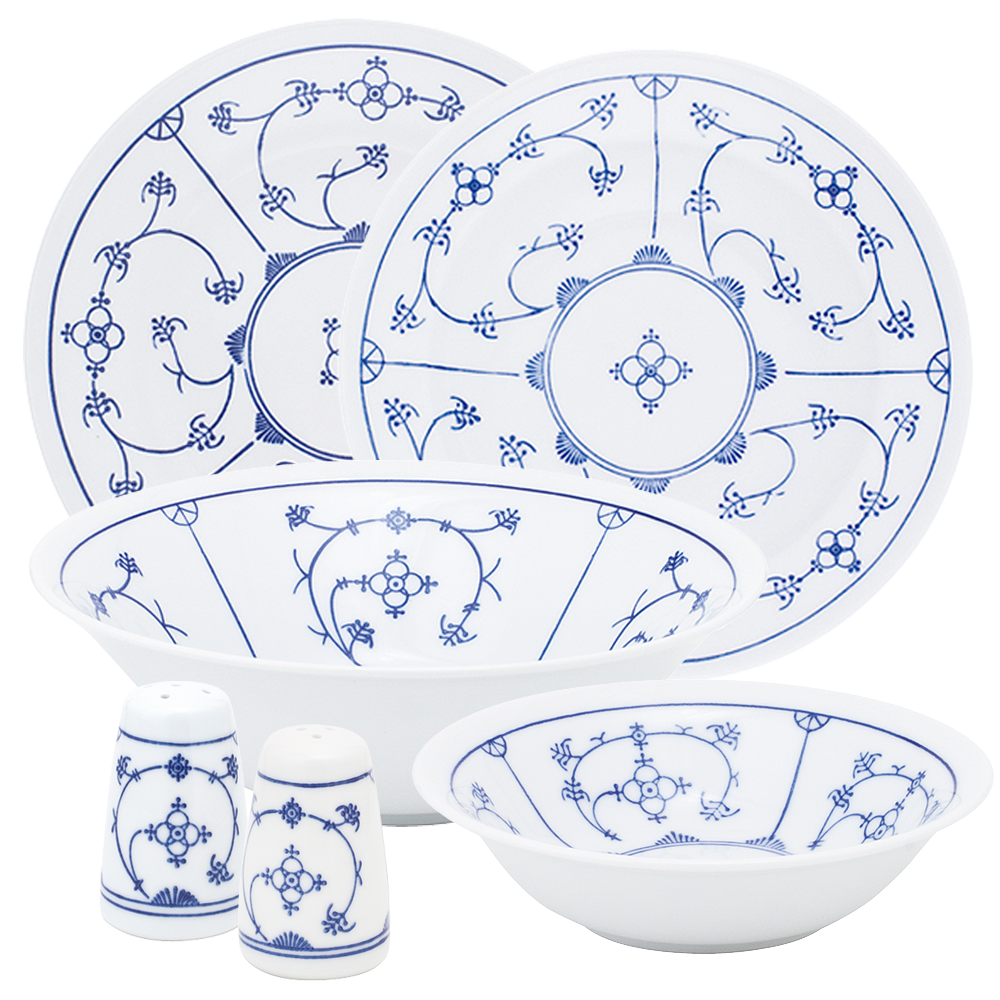 Tradition Dinner Set Blau Saks Kahla Porcelain Shop