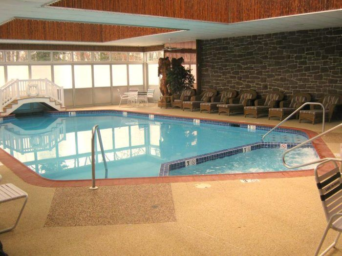 Take A Dip In The Indoor Pool, If Youu0027re Visiting