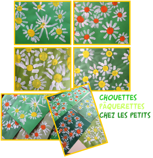 Fleurs printemps arts visuels maternelle - Le printemps gs ...