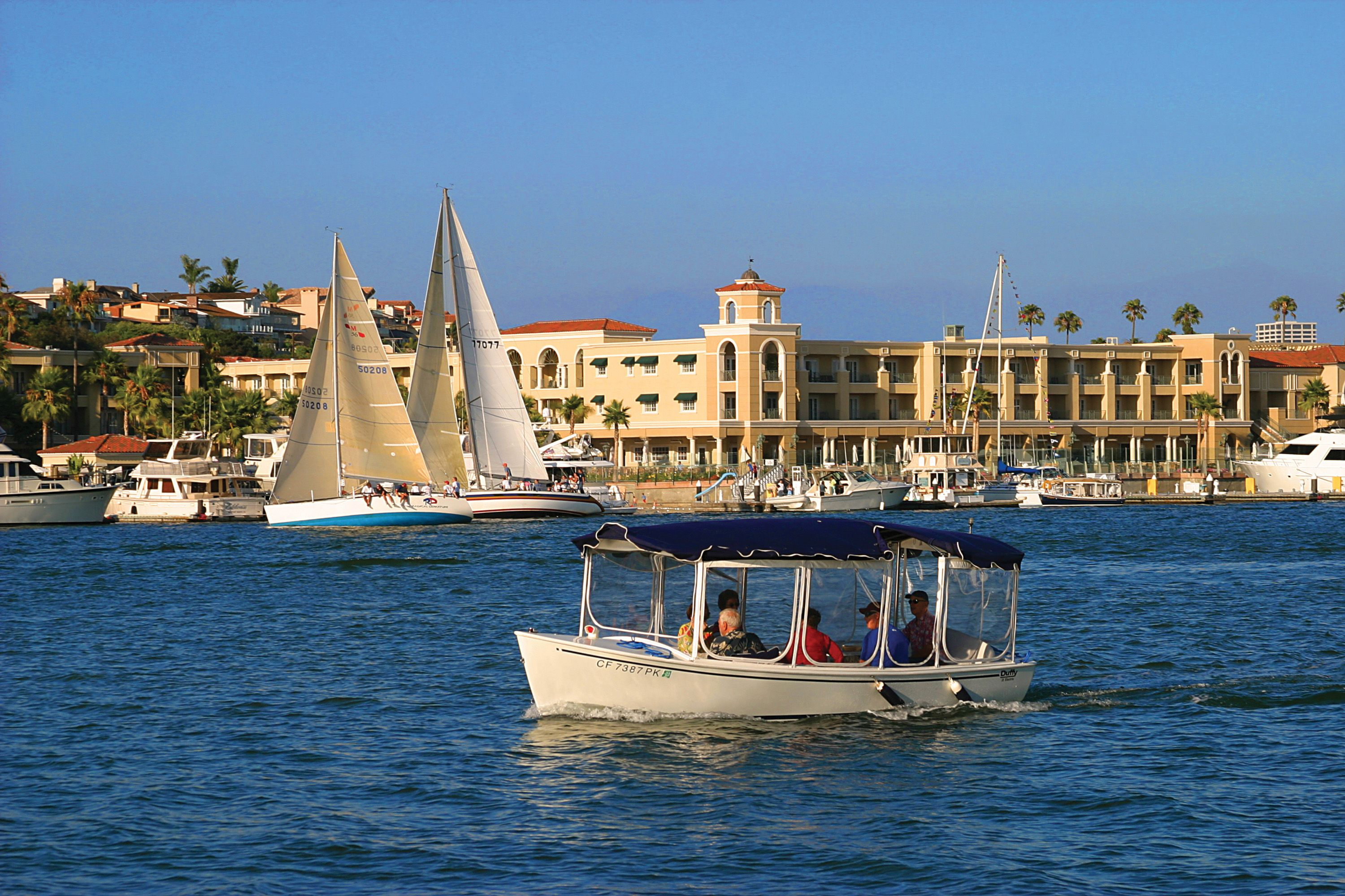 Set Sail For The Picturesque Balboa Bay Club Resort In Newport Beach Cailf