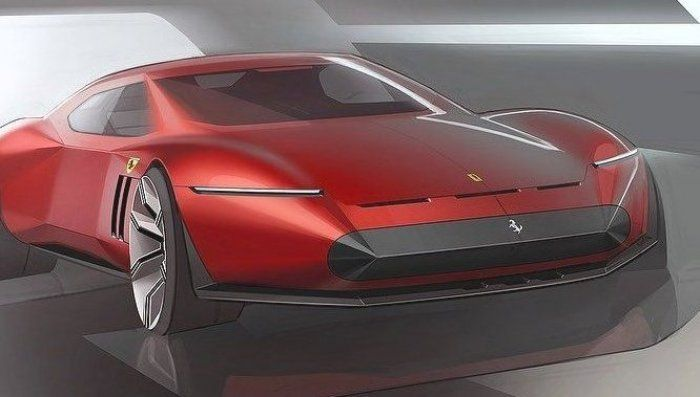 Jack Luttig on Instagram     If a Ferrari GTO drove through a giant pencil sharpener  #ferrari #sketch #drawing #cardesign #drawing #cardesigndaily #cardesignworld