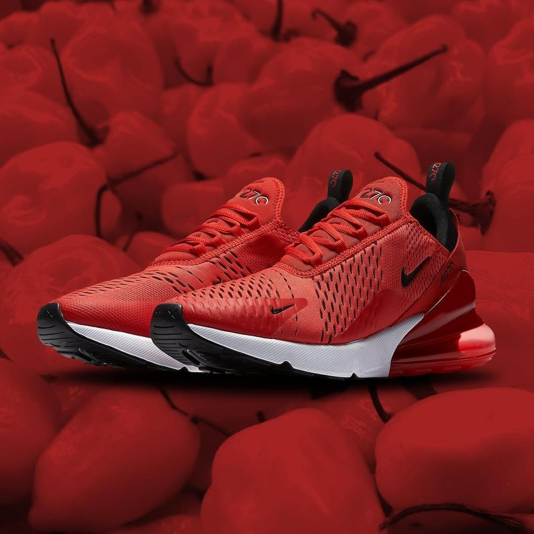 Sizzle. 🌶🔥#Nike Air Max 270 'Habanero