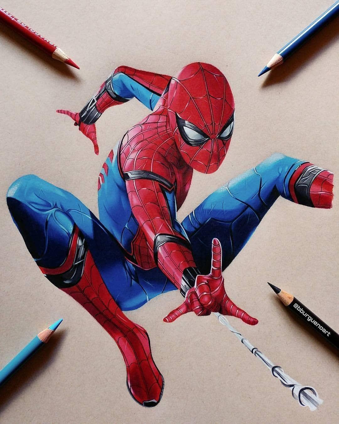 Credits Ironmanclub Comics Movies Games Marvelart Avengers Captainamerica Ironman Hulk Tho Spiderman Drawing Spiderman Artwork Marvel Comics Wallpaper