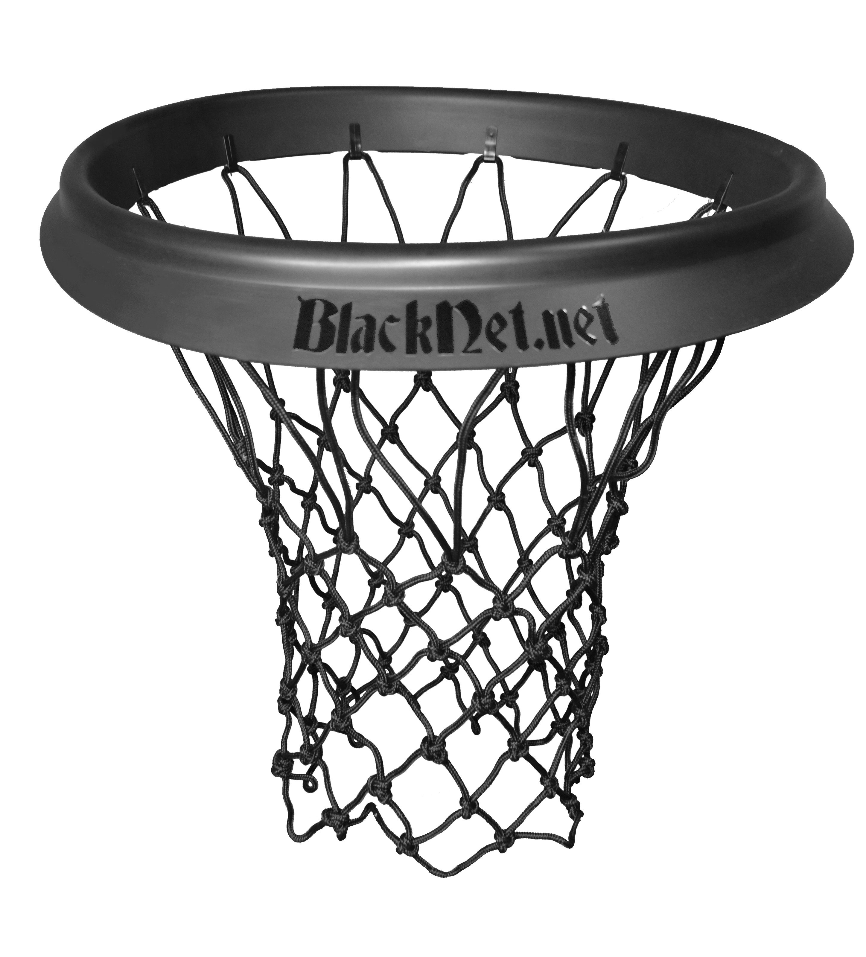 blacknet product shot and basketball nets