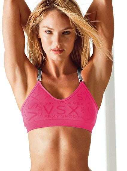 3786ac0800fa6 The most comfortable (and attractive) sports bra I ve ever worn!! So glad I  decided to take the deal on 2!!!! Supermodel Cami Sports Bra - Victoria s  Secret ...